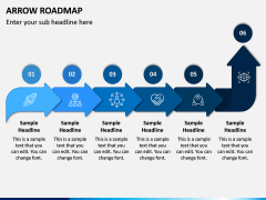 Arrow Roadmap PPT Slide 4