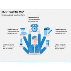 Multi Tasking Man PPT Slide 1