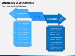 Strengths Vs Weaknesses PPT Slide 4