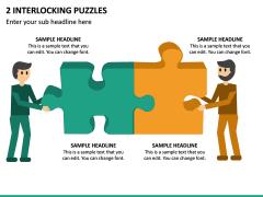 2 Interlocking Puzzles PPT Slide 2