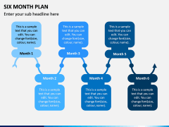 Six Month Plan PPT Slide 5