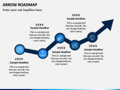 Arrow Roadmap PPT Slide 6
