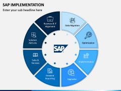 SAP Implementation PPT Slide 1