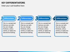 Key Differentiators PPT Slide 1