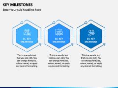 Key Milestones PPT Slide 3