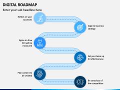 Digital Roadmap PPT Slide 6