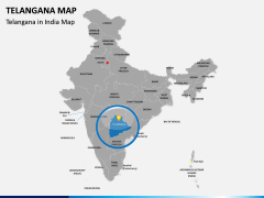 Telangana Map PPT Slide 4
