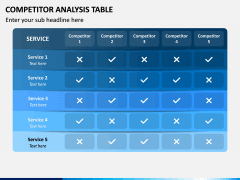 Competitor Analysis Table PPT Slide 2