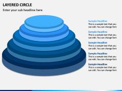 Layered Circle PPT Slide 8