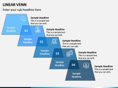 Linear Venn Diagram PPT Slide 12