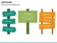 Sign Board PPT Slide 19
