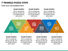 7 Triangle Puzzle Steps PPT Slide 2