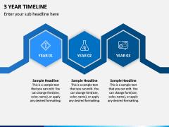 3 Year Timeline PPT Slide 2