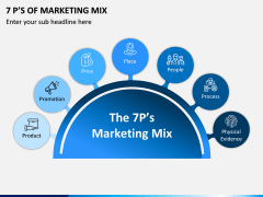 7P's of Marketing Mix PPT Slide 1