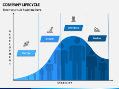 Company Lifecycle PPT Slide 1