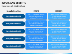 Inputs and Benefits PPT Slide 4