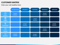 Customer Matrix PPT Slide 6
