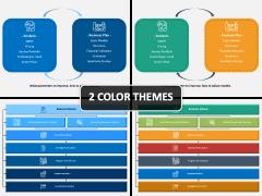 Business Planning Model PPT Cover Slide