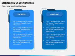 Strengths Vs Weaknesses PPT Slide 8