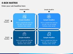4 Box Matrix PPT Slide 4