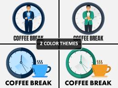 Coffee Break PPT Cover Slide