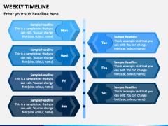 Weekly Timeline PPT Slide 5