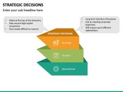 Strategic Decisions PPT Slide 26