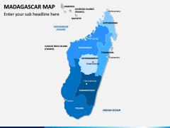 Madagascar Map PPT Slide 1