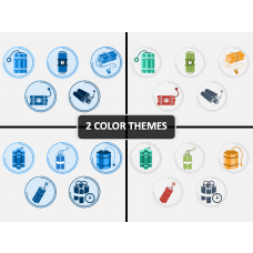 Dynamite Icons PPT Cover Slide