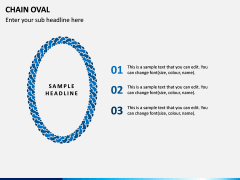 Chain Oval PPT Slide 4