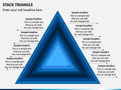 Stack Triangle PPT Slide 1
