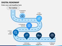 Digital Roadmap PPT Slide 2