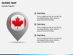 Quebec Map PPT Slide 5