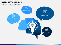 Brain Infographics PPT Slide 5