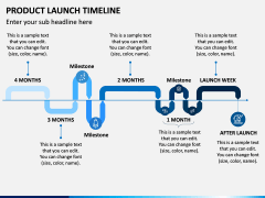 Product Launch Timeline PPT Slide 4