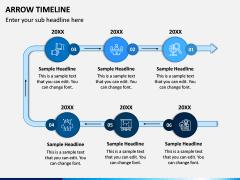 Arrow Timeline PPT Slide 6