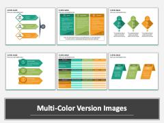Three Level Sales Multicolor Combined