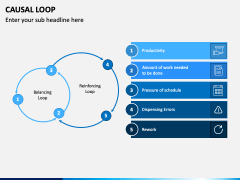 Causal Loop PPT Slide 2