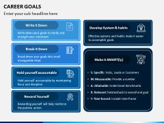 Career Goals PPT Slide 6