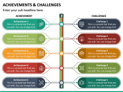 Achievements and Challenges PPT Slide 3