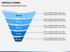 Vertical Funnel PPT Slide 9