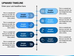 Upward Timeline PPT Slide 6