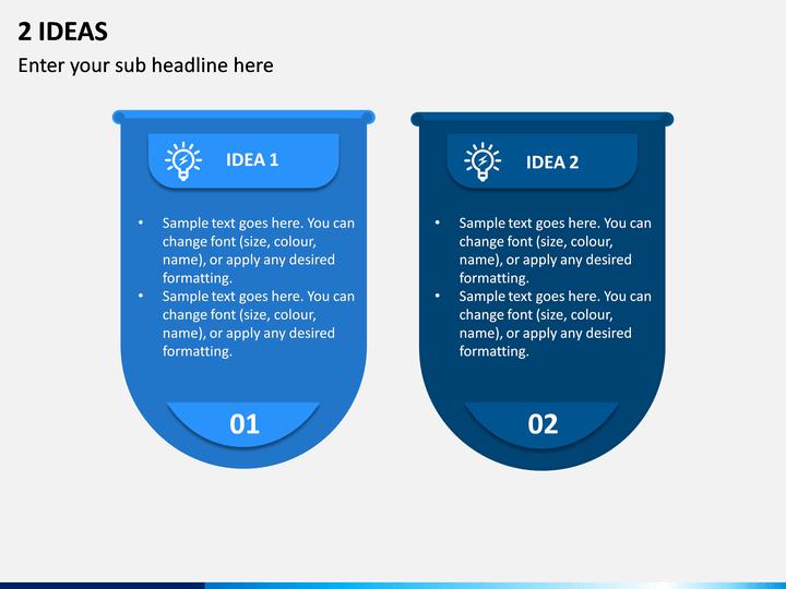 2 Ideas PPT Slide 1