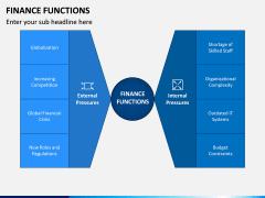Finance Functions PPT Slide 1