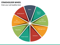 Stakeholder Wheel PPT Slide 13