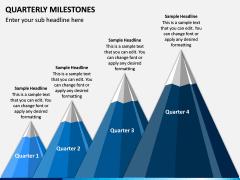 Quarterly Milestone PPT Slide 4