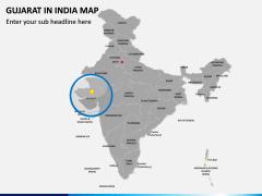 Gujarat Map PPT Slide 4