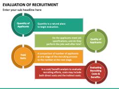 Evaluation of Recruitment PPT Slide 6