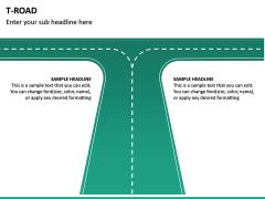 T Road PPT Slide 3