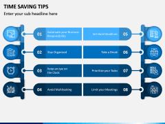 Time Saving Tips PPT Slide 3